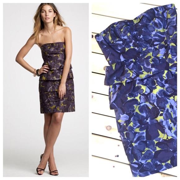 0982a1be093 J. Crew Dresses   Skirts - 2 HR SALE J.Crew Strapless Floral Dress
