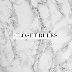 Other - Closet Rules