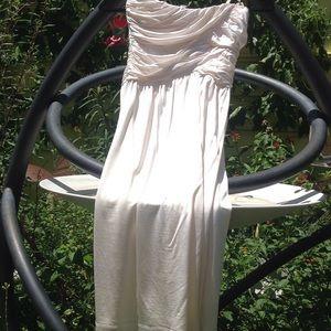 Strapless Bebe dress xs
