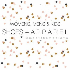 MENS & KIDS SHOES + APPAREL NOW AVAILABLE!