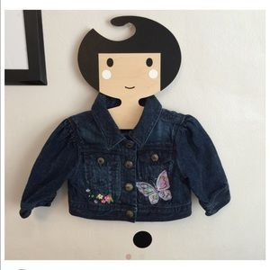 Baby gap Other - Baby gap cropped denim jacket