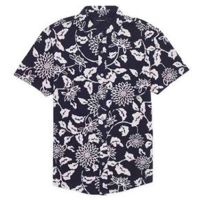 • Men's Club Monaco floral shirt size M •