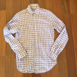 J. Crew Other - J. Crew mens gingham shirt