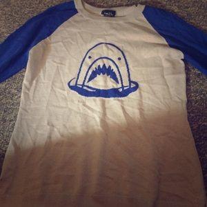 Rue 21 shark sweater size s