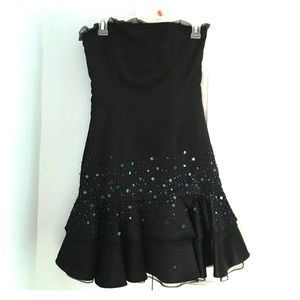 Black Sparkly Prom Dress