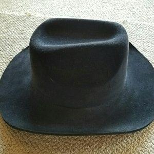 Hot Topic Accessories - Black Cowboy Western Hat Costume Halloween Unisex