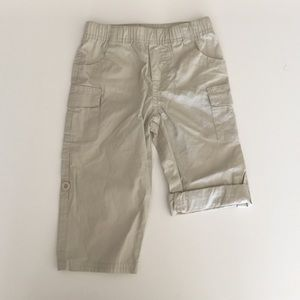 First Impressions Other - Khaki cargo roll up pants 18m
