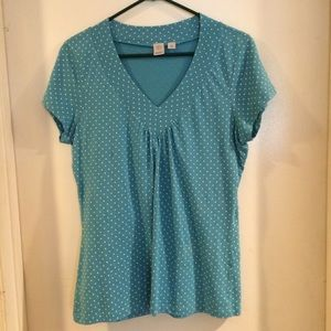 Caslon Tops - Fun Polka Dot Top