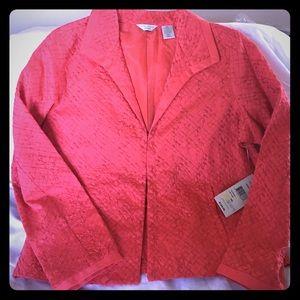 Laura Ashley Tops - 🆕 Pink Gloss Laura Ashley Blazer
