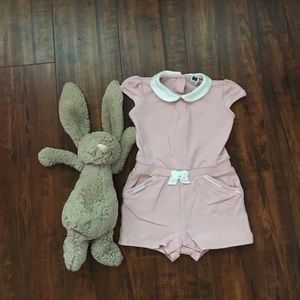 🎈Janie and Jack pink jumpsuit🎈