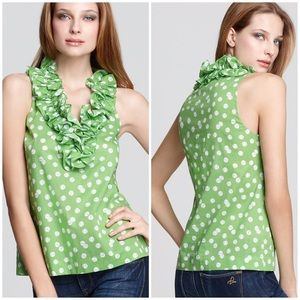"Kate Spade Lucille ""Tennis Anyone"" Printed Top"