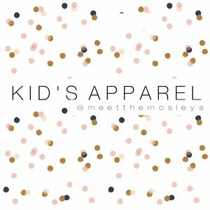 KIDS APPAREL NOW AVAILABLE!