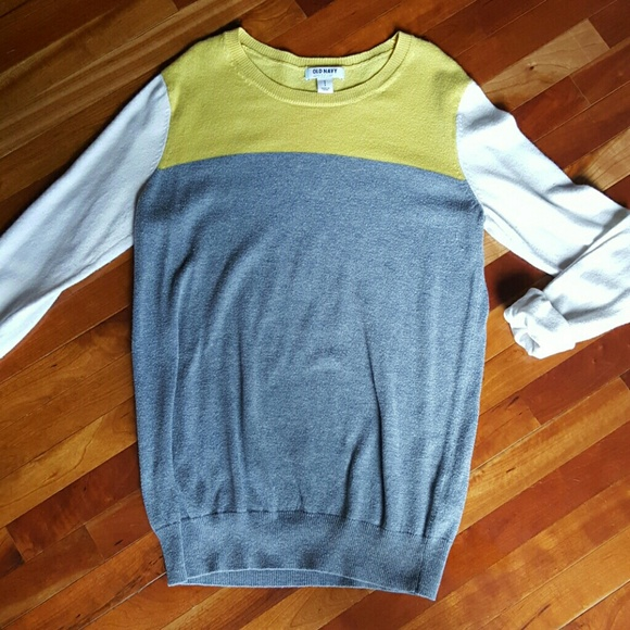 68% off Old Navy Sweaters - Old Navy Color block sweater from ...