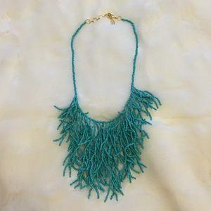 Amrita Singh Jewelry - Amrita Singh Turquoise Beaded Coral Necklace