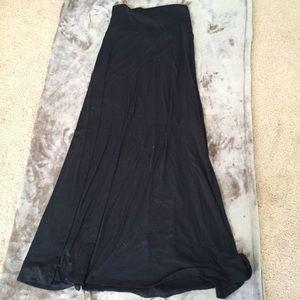 Mossimo Black Maxi Skirt