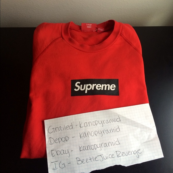 195079d2130381 Supreme Sweaters | Lightweight Box Logo | Poshmark