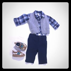 Cherokee baby boy outfit