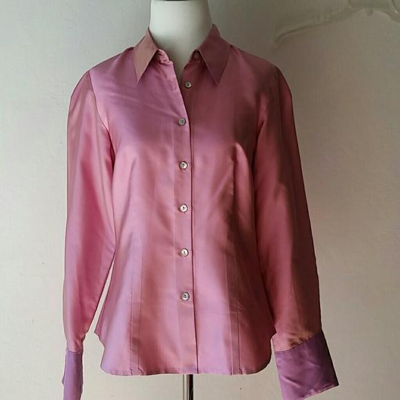 8073ca52916d22 Ann Taylor Tops - Ann Taylor silk shirt