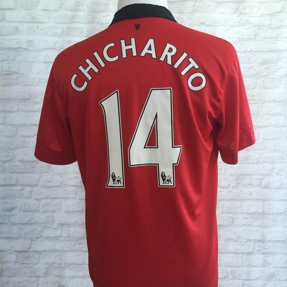 4e8c13013c5 Manchester United Chicharito soccer Jersey. M 57914a6b9c6fcf6ad0002b58
