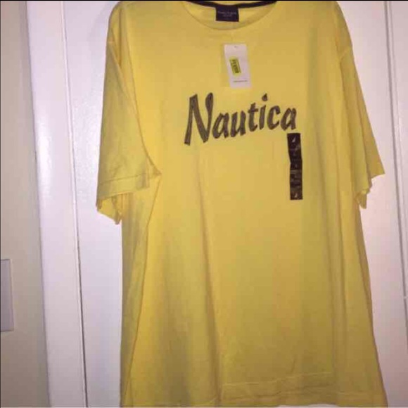 33 Off Nautica Other Nautica L Large Mens Yellow T