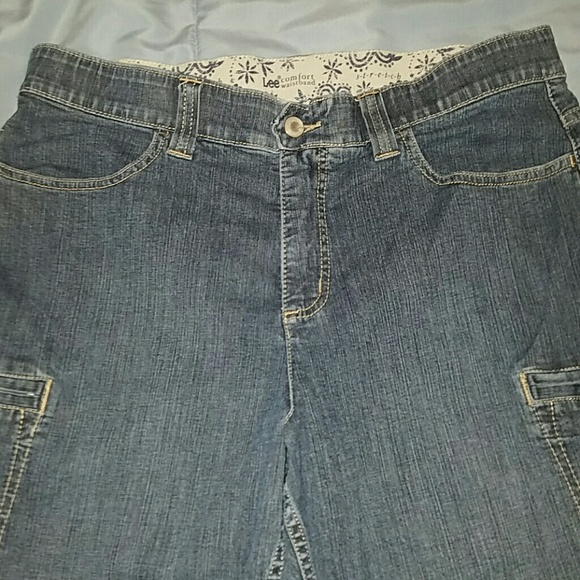 Lee - Lee Comfort Waistband Denim Capris Size 14P from Stephanie's ...