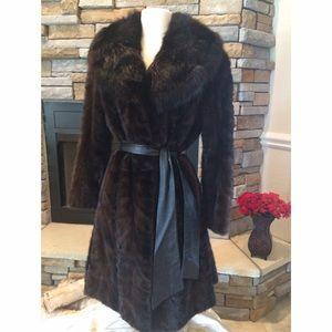 Jackets & Blazers - 🎉2x HP🎉VINTAGE Mink & Sable Coat