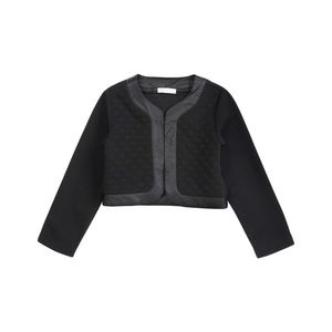 Petit Lem Other - Petit Lem Glam Rocks Woven Stitched Crop Knit