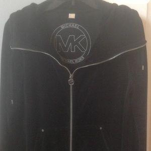 Michael Kors Tops - 💐🌷SALE💐🌷Black velour Michael Kors jacket