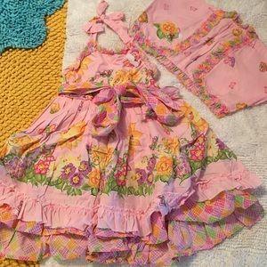 Simplicity Other - Host Pick! Simplicity Daisy Kingdom ruffle dress