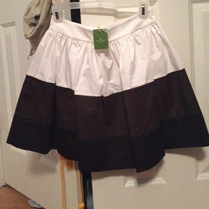 Kate Spade Colorblock coreen skirt