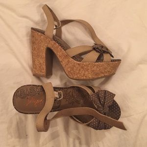 Wedge sandals size 6.5