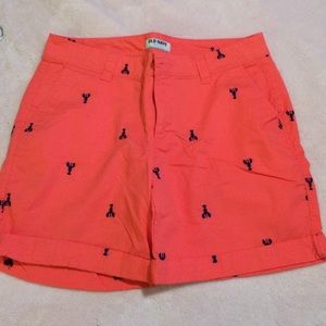 NWOT Old Navy Embroidered Bermuda Shorts