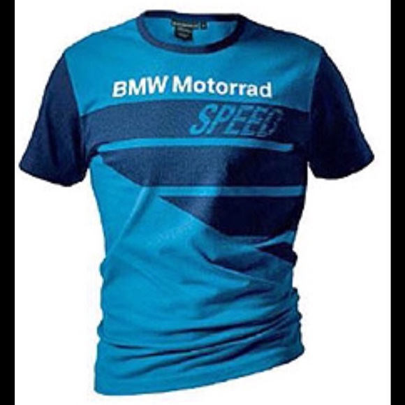 bmw tops motorrad tshirt blue s 72607710092 poshmark. Black Bedroom Furniture Sets. Home Design Ideas