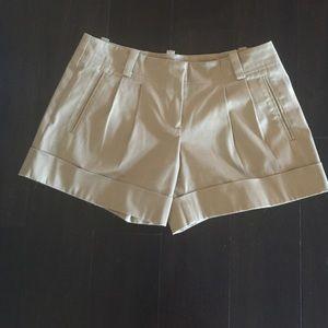 Trina Turk Tan Shorts size 4