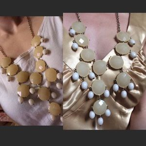 Anthropologie Jewelry - Boldest Big Jeweled Necklace Cocktail Party Bam!