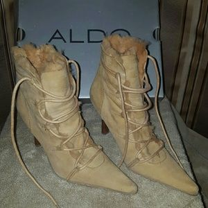 Aldo camel boots