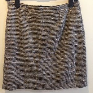 See by Chloe Dresses & Skirts - SEE BY CHLOÉ Metallic Tweed Skirt