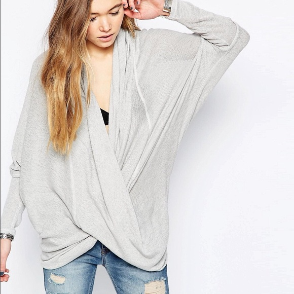 70ccbd5acceb Free People Tops - WeTheFree Sheila Hacci Wrap Top