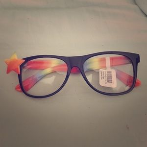 Claire's Other - Clear rainbow glasses