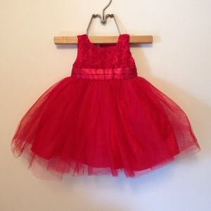 Other - ✨HP✨ Baby Girl Red Dress