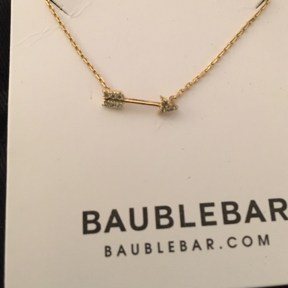 Bauble Bar Jewelry - Bauble Bar Arrow Necklace