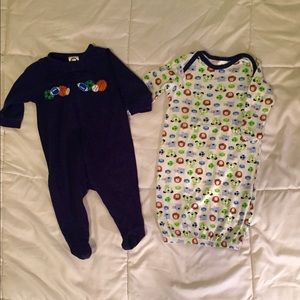 Gerber Other - Baby Sleep Sack and Zip up pajamas