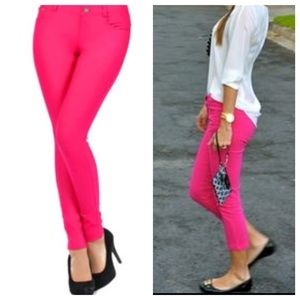 Pants - Colored jeggings RESTOCKED