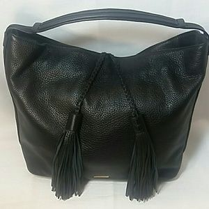 Rebecca Minkoff Handbags - Rebecca Minkoff large black pebbled leather shldr