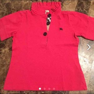 Burberry Other - Girls Burberry Toddler exotic Polo