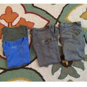 Boys organic tshirt lot of 6 Sz 3-6 months