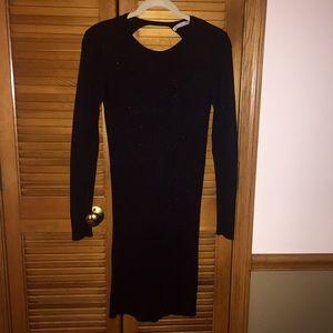 ZARA BLACK SPARKLY DRESS SZ M