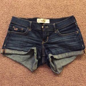 Hollister denim shorts size 3 or 26.