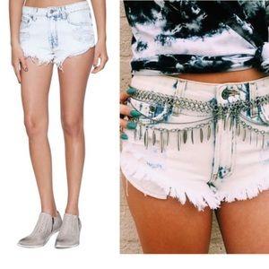 Carmar Pants - 🆕 Carmar Distressed Cutoff Shorts