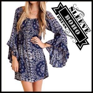 Boutique  Dresses & Skirts - Bell Sleeve Dress ($ FIRM UNLESS BUNDLED-Retail)